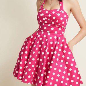 Cake pop polka dot dress SIZE SMALL